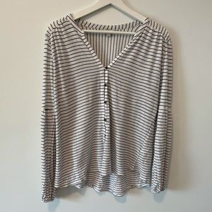 Lucky Brand Striped Knit Top